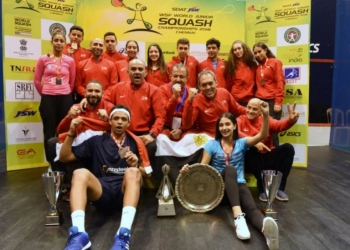 World Junior Championships: Egypt complete their collection