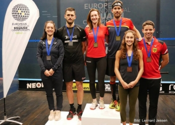 Tomlinson and Golan crowned European champions