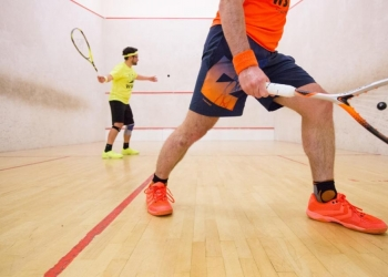 S-Line squash shoes review with the Squash World Tour